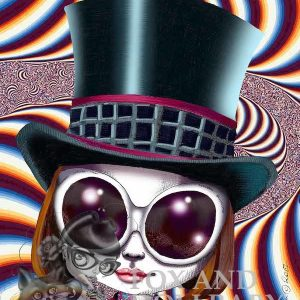 Johnny Depp as Willie Wonka Special Edition Art Print
