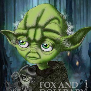 Yoda Star Wars Art Print