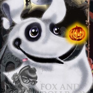 Zero the Ghost Dog from Nightmare Before Christmas, Tim Burton 's Movie