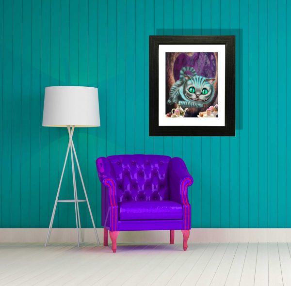 Cheshire Cat special edition art print by de Shan