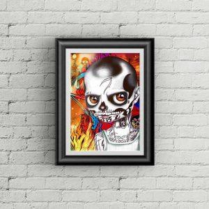 Diablo special Edition Art Print