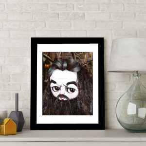 Hagrid from Harry Potter special edition art print by de Shan