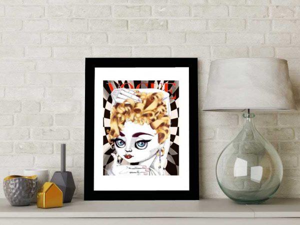Madonna special edition art print by de Shan