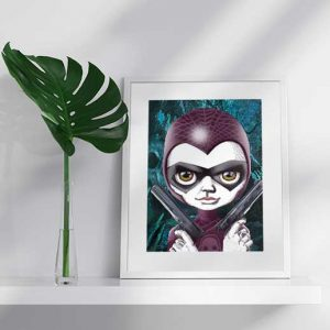 The Phantom Special Edition Art Print by Eumundi Artist de Shan