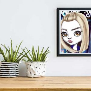 Rose Tyler Dr Who Special Edition Art Print
