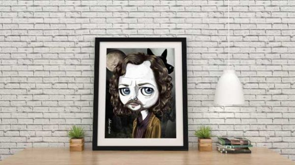 Sirius Black Special Edition Print by de Shan