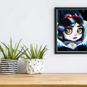 snow white Special Edition Art Print