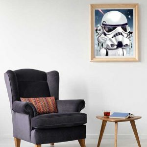 Storm Trooper Star Wars Art Print