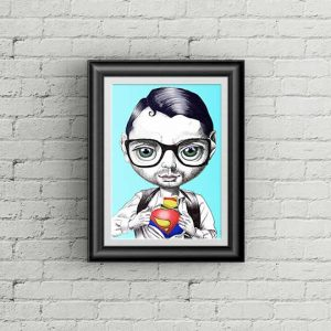superman quality art prints