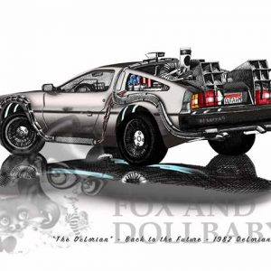 1982 De Lorean 'is a De Lorean' from the movie Back to the Future