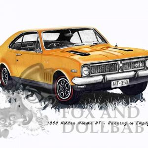 1969 HT Holden Monaro from the movie Running on Empty