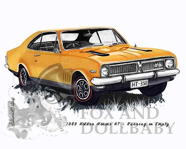 1969 HT Holden Monaro from the movie Running on Empty