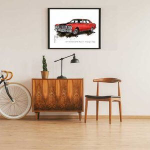 Ford GTHO Phase 3 Special Edition Car Art Print