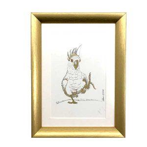 gold frame for art print