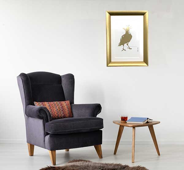 Australian Magpie Special Edition Bird Art Print