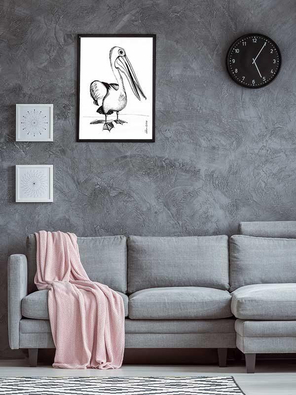Australian Pelican Special Edition Bird Art Print