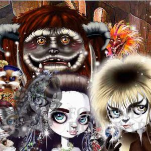 The Tale of Labyrinth limited edition print by de Shan