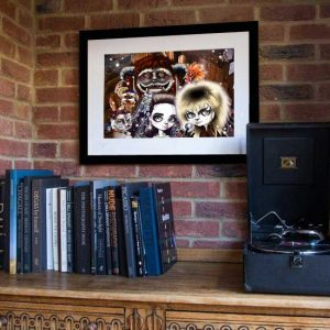 The Tale of Labyrinth print 2