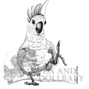 Australian Cockatoo Special Edition Bird Art Print