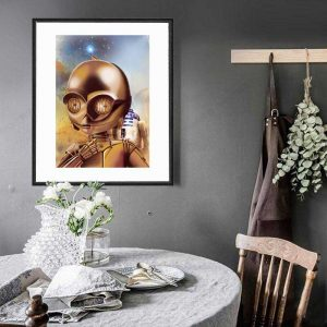C-3PO special edition art print by de Shan