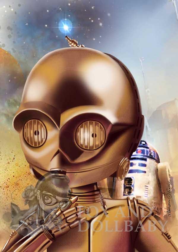 C-3PO Print 2