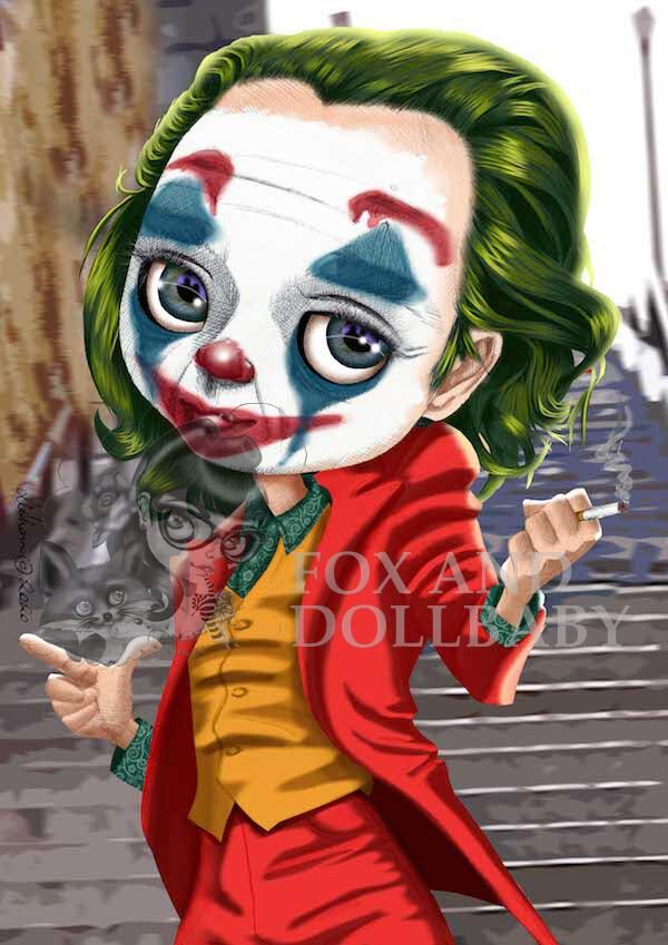Joaquin Phoenix as the Joker Special Edition Print by de Shan