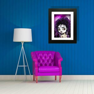 Prince special edition art print by de Shan