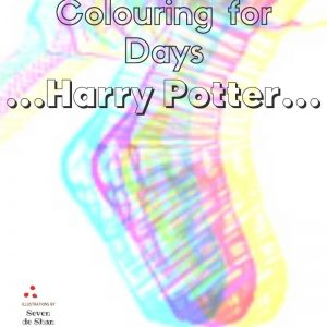 Harry Potter colouring in book by artist de Shan