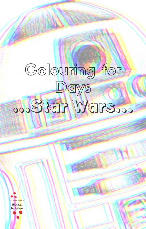 Stars Wars colouring in book