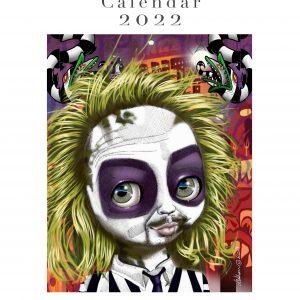 Burton-esque Edition Calendar 2022 by de Shan
