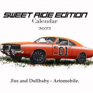 Sweet Ride Edition Calendar 2022 by de Shan