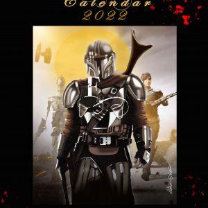 Sci-Fantasy Edition Calendar 2022 by de Shan