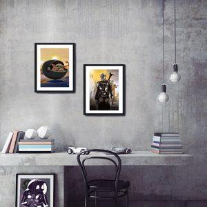 Mando Special Edition Art Print by de Shan