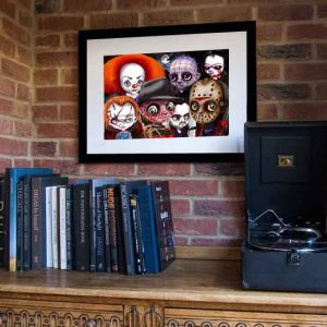 A Frightful Tale Limited Edition Print by de Shan