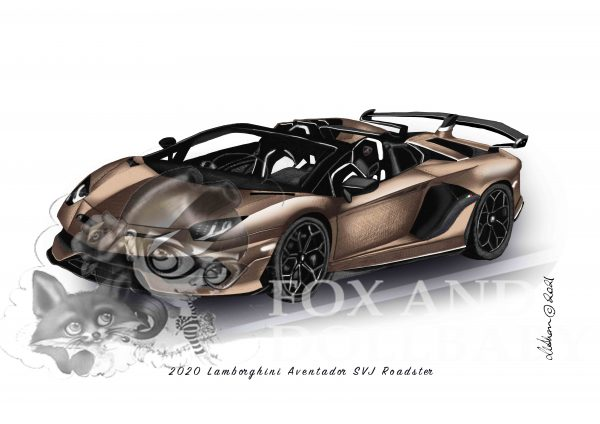2020 Lamborghini Aventador SVJ Roadster by de Shan