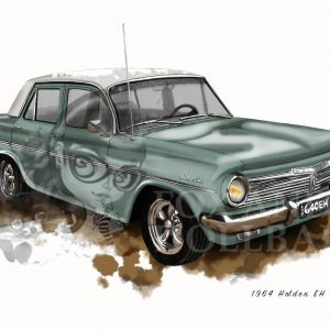1964 Holden EH Special by de Shan